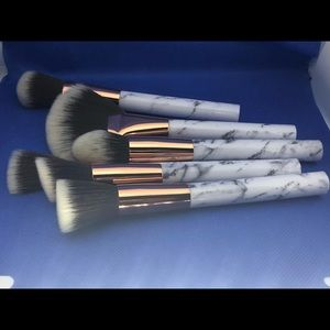 Other - Makeup brushes with bag